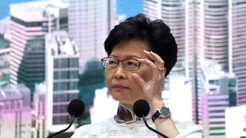 Hong Kong leader Carrie Lam suspends extradition bill, but won't apologise for rift it caused or withdraw it altogether