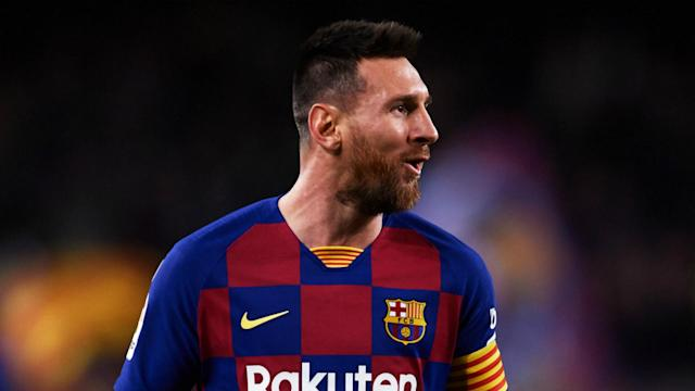 Lionel Messi's hat-trick inspired Barcelona to a 4-1 victory over Celta Vigo and ended a tumultuous week on a high at Camp Nou.