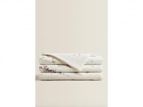Or use this decorative floral design to add colour (Zara Home)