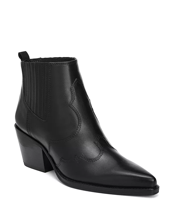 """<br><br><strong>Sam Edelman</strong> Winona Pointed-Toe Mid-Heel Leather Booties, $, available at <a href=""""https://go.skimresources.com/?id=30283X879131&url=https%3A%2F%2Fwww.bloomingdales.com%2Fshop%2Fproduct%2Fsam-edelman-womens-winona-pointed-toe-mid-heel-leather-booties%3FID%3D3165034%26CategoryID%3D16961"""" rel=""""nofollow noopener"""" target=""""_blank"""" data-ylk=""""slk:Bloomingdale's"""" class=""""link rapid-noclick-resp"""">Bloomingdale's</a>"""