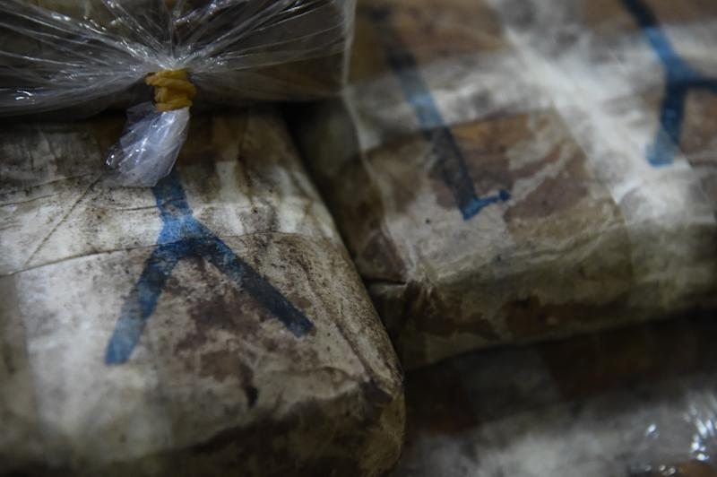 Myanmar authorities have seized 20 million meth pills -- which are combined with caffeine to create 'yaba' tablets (pictured) -- in what is believed to be the biggest haul of the year (AFP Photo/LILLIAN SUWANRUMPHA)