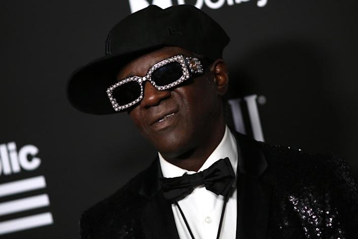 Flavor Flav at a Grammys after-party on 26 January 2020 in West Hollywood, California: Tommaso Boddi/Getty Images for Republic Records
