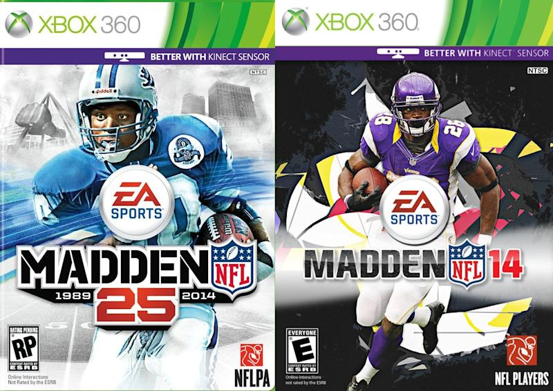 Madden 14 covers (via EA Sports/Microsoft)