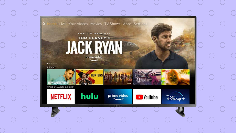 Save $80 percent on this 50-inch Insignia Fire TV Edition 4K TV. (Photo: Amazon)