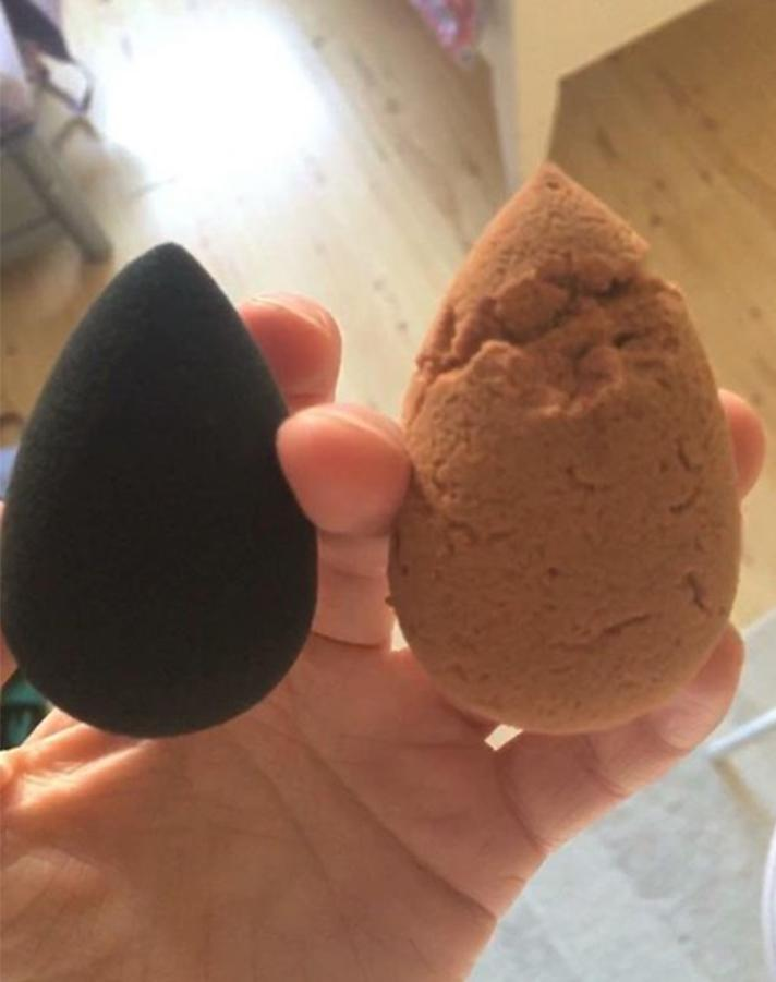 redditbeautyblender You Need to See What Happened to This Womans Beautyblender After 7 Months