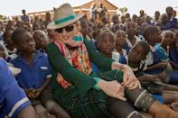 Madonna takes kids back to Malawi to open hospital
