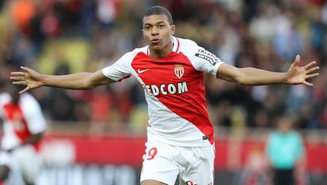<p><strong>Age:</strong> 18</p> <p><strong>Ligue 1 Goals:</strong> 11</p> <br><p>The brightest light in Monaco's shining array of exciting, fresh talent, Kylian Mbappe has taken French and European football by storm this season.</p> <br><p>The teenage prodigy, already likened to a young Thierry Henry, only celebrated his 18th birthday in December and has been tipped for huge things in the near future.</p>