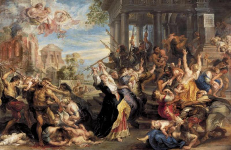 """""""Massacre of the Innocents"""" by Peter Paul Rubens, $76.7 millions."""