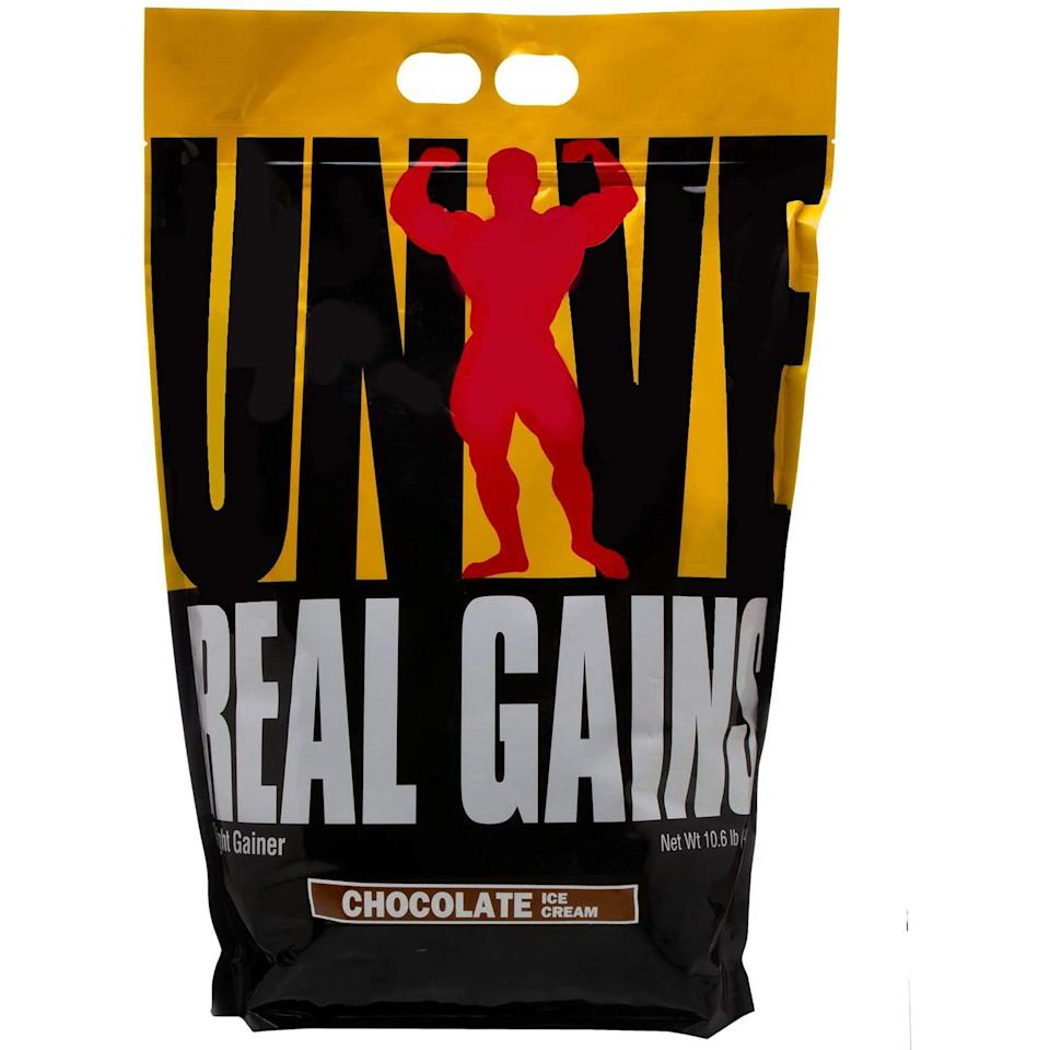 real gains mass gainer supplement
