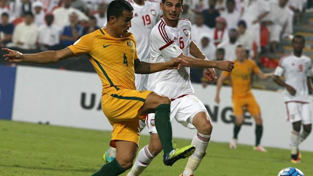 Tim Cahill UAE v Australia World Cup qualifying 06092016