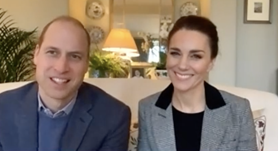 The Duke and Duchess showed a different room in their home. (Kensington Royal)
