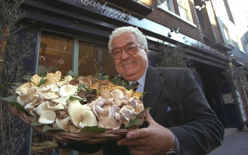 Carluccio's, founded by the late Italian chef Antonio Carluccio, is asking landlords for reduced rents at some of its sites to help it stay afloat - JULIAN SIMMONDS