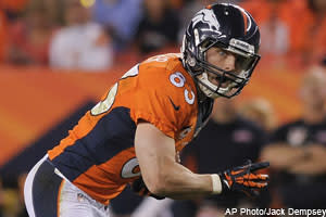 Nick Mensio checks in on Wes Welker, Ben Tate, Rob Gronkowski and many others in Wednesday's Dose