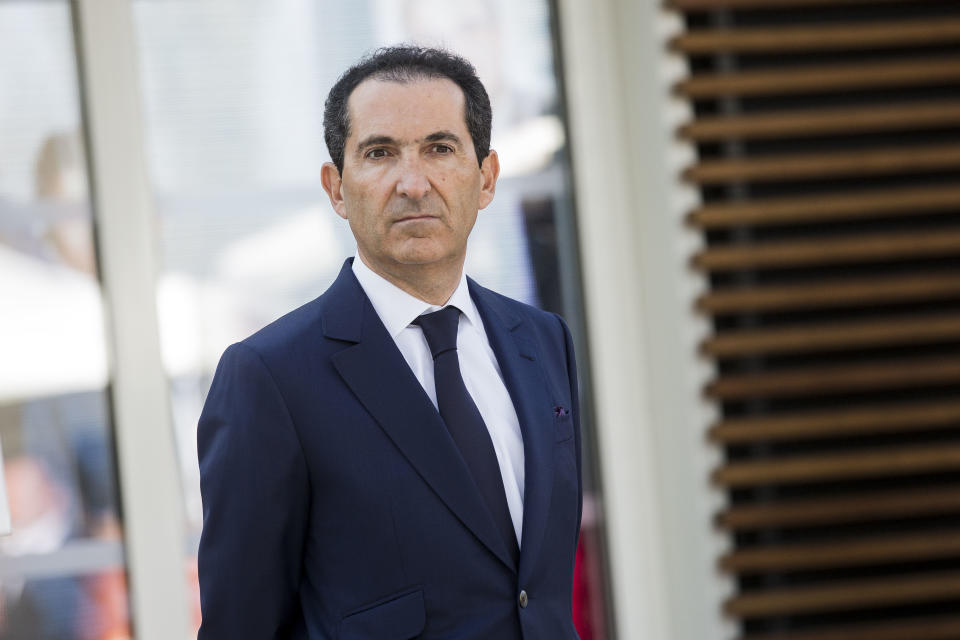 Patrick Drahi, president of french telecom group Altice at the inauguration of the Drahi-X Novation Center, dedicated to entrepreneurship and innovation, at the Ecole Polytechnique, in Palaiseau (near Paris). Photo: Christophe Morin/IP3/Getty Images)