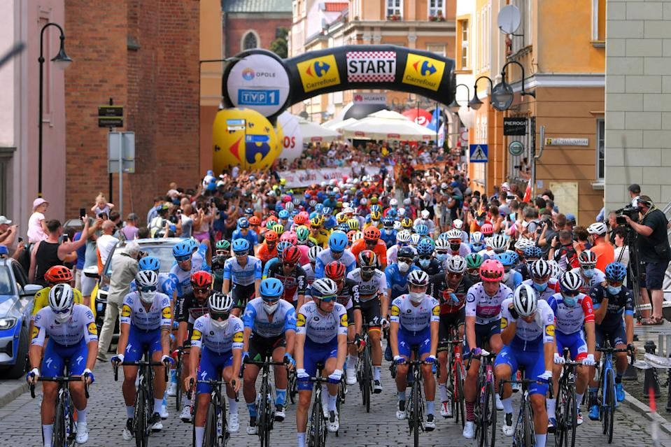 Stage 2 of the  Tour de Pologne