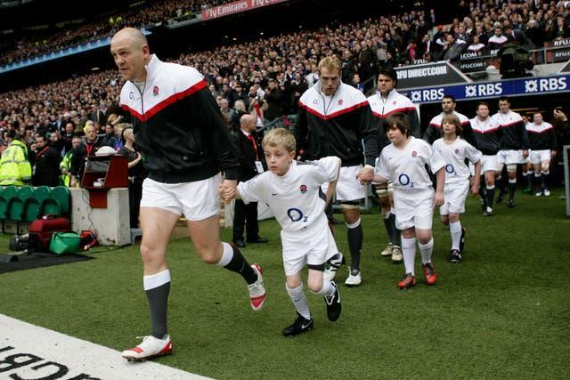 Tindall captained England during the Six Nations' tournament in 2011