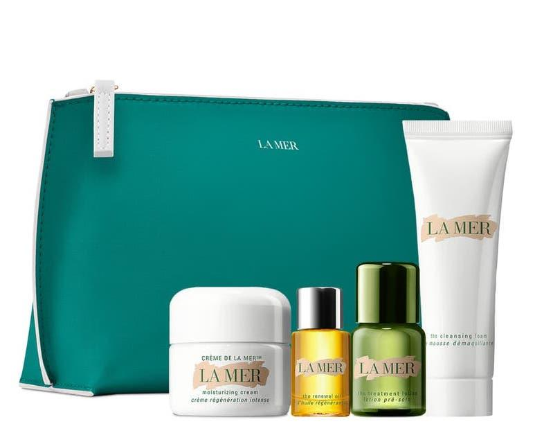The nourishing, four-step La Mer skincare system (valued at $182) is on sale for $95 now at Nordstrom! (Photo: Nordstrom)