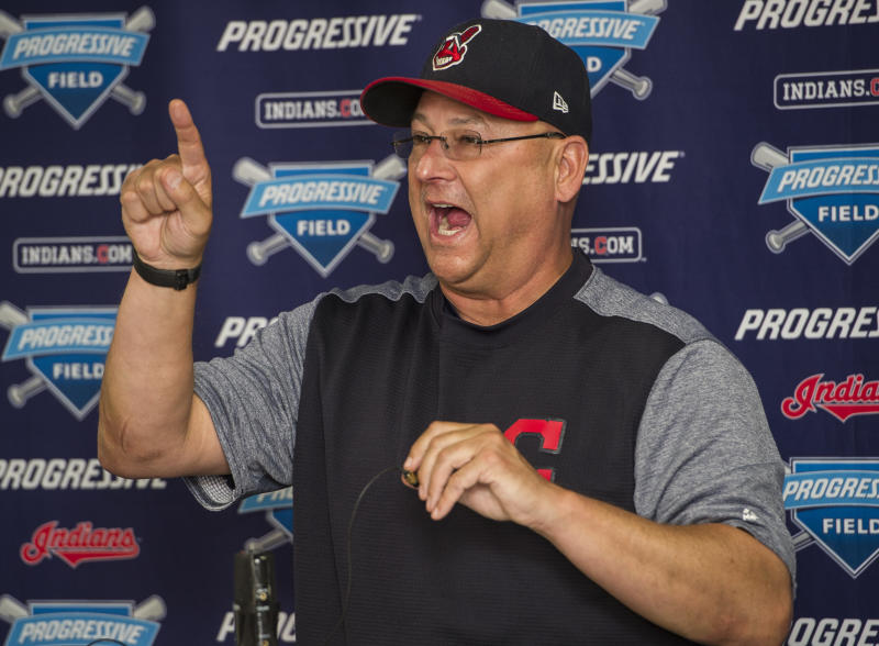 Indians manager Terry Francona has made his mark in Cleveland. (AP)