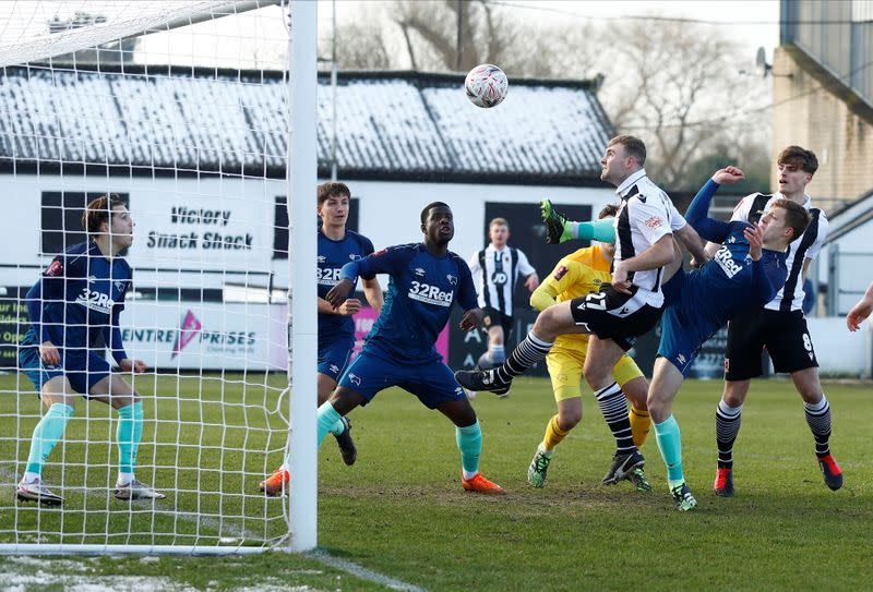 FILE PHOTO: FA Cup - Third Round - Chorley v Derby County