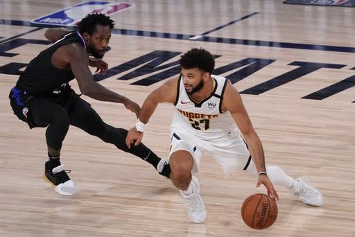 Nuggets lead wire-to-wire, top Clippers to tie series at 1