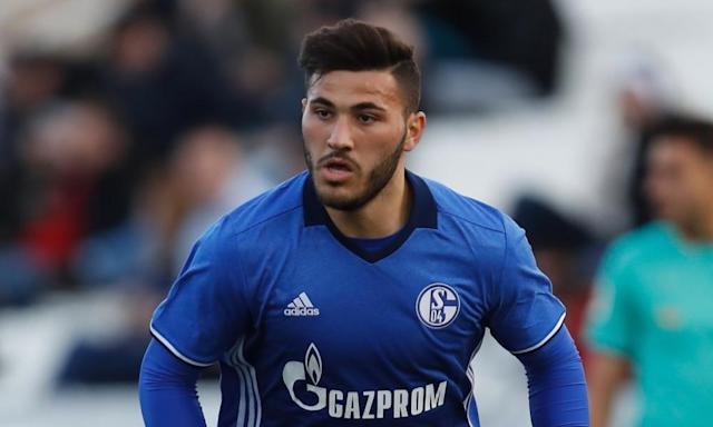 "<span class=""element-image__caption"">Sead Kolasinac, the highly rated Bosnia left-back, has agreed to join Arsenal from Schalke on a free transfer. </span> <span class=""element-image__credit"">Photograph: Aflo/Rex/Shutterstock</span>"