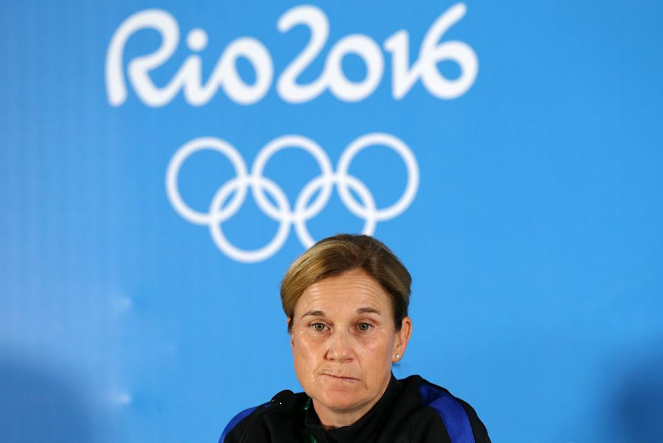 Jill Ellis and the USWNT suffered the earliest major tournament exit in program history at the 2016 Olympics. (REUTERS/Mariana Bazo)