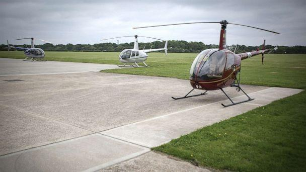 PHOTO: Robinson helicopters are pictured outside of London. (Aviation-images.com/Universal Images Group via Getty Images)