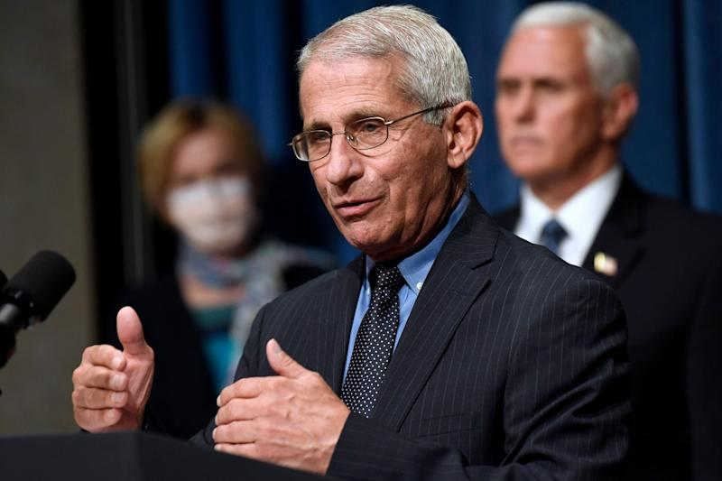 'Rounded the Corner': Fauci Disagrees with Trump on Coronavirus, Cites Disturbing US Statistics