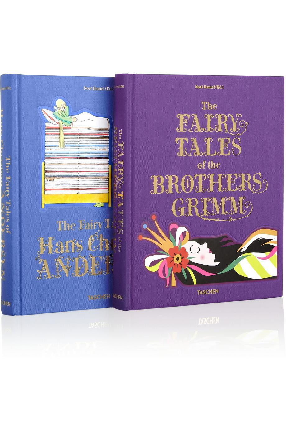 "<p>Because a night of beauty sleep shouldn't start without a bedtime story, no matter how old you are. <b><a href=""http://www.net-a-porter.com/us/en/product/437693/taschen/set-of-two-fairy-tale-books--hans-christian-andersen-and-the-brothers-grimm"" rel=""nofollow noopener"" target=""_blank"" data-ylk=""slk:Taschen Set of Two Fairy Tale Books"" class=""link rapid-noclick-resp"">Taschen Set of Two Fairy Tale Books</a> ($80)</b><br></p>"