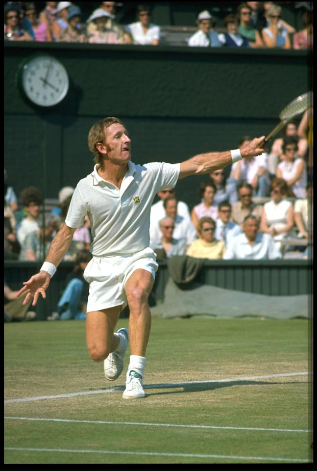 "<p class=""MsoNormal""><span>In <b>1968</b>, Wimbledon became an ""open"" championship, allowing both amateur and professional tennis players to compete in the same tournament. Until this point, only amateurs could compete in Grand Slam events. Australian legend Rod Laver (pictured) won his third Wimbledon title, his first as a professional, while Billie Jean King won the women's title for the third year running. <br></span></p>"
