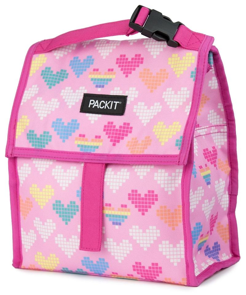"""<p>Hold everything your child likes to eat in this <a href=""""https://www.popsugar.com/buy/PackIt-Freezable-Lunch-Bag-Zip-Closure-Pixel-Hearts-476584?p_name=PackIt%20Freezable%20Lunch%20Bag%20With%20Zip%20Closure%2C%20Pixel%20Hearts&retailer=amazon.com&pid=476584&price=20&evar1=moms%3Aus&evar9=46466031&evar98=https%3A%2F%2Fwww.popsugar.com%2Ffamily%2Fphoto-gallery%2F46466031%2Fimage%2F46466209%2FPackIt-Freezable-Lunch-Bag-Zip-Closure-Pixel-Hearts&list1=back%20to%20school%2Ckid%20shopping%2Cback%20to%20school%20shopping&prop13=api&pdata=1"""" rel=""""nofollow"""" data-shoppable-link=""""1"""" target=""""_blank"""" class=""""ga-track"""" data-ga-category=""""Related"""" data-ga-label=""""https://www.amazon.com/PackIt-Freezable-Lunch-Closure-Hearts/dp/B0795ZPHJ2/ref=sr_1_36?keywords=kids%27+lunch+box&amp;qid=1565192026&amp;s=gateway&amp;sr=8-36"""" data-ga-action=""""In-Line Links"""">PackIt Freezable Lunch Bag With Zip Closure, Pixel Hearts</a> ($20).</p>"""