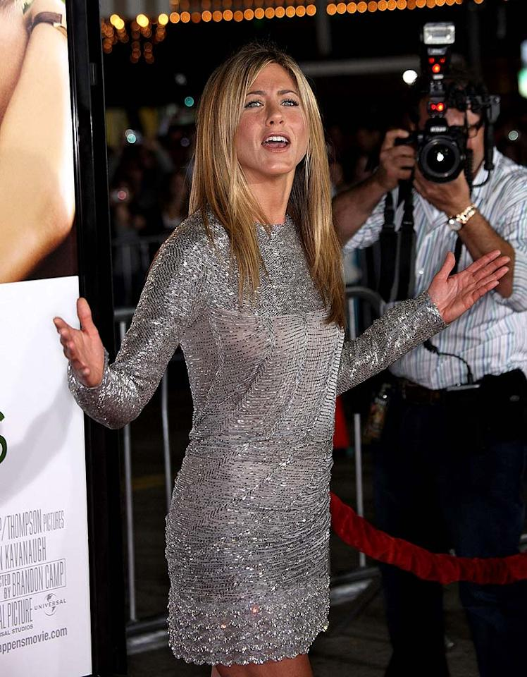 "<a href=""http://www.gossipcop.com/site-fakes-near-collision-of-brangelina-and-jennifer-aniston/"" target=""new"">Buzz began to snowball</a> after a news and photo site claimed that at the UNICEF Snowflake Ball in Los Angeles, Jennifer Aniston had a run-in with ex-husband Brad Pitt and his partner Angelina Jolie. The site declared ""hell has frozen over,"" but that dish was cold. Aniston was nowhere near Brangelina or, for that matter, a mile within the event. Frederick M. Brown/<a href=""http://www.gettyimages.com/"" target=""new"">GettyImages.com</a> - September 15, 2009"