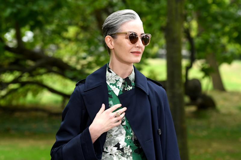 Erin O'Connor is beyond chic. (Getty Images)