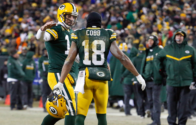 Is Randall Cobb back in the circle of trust?