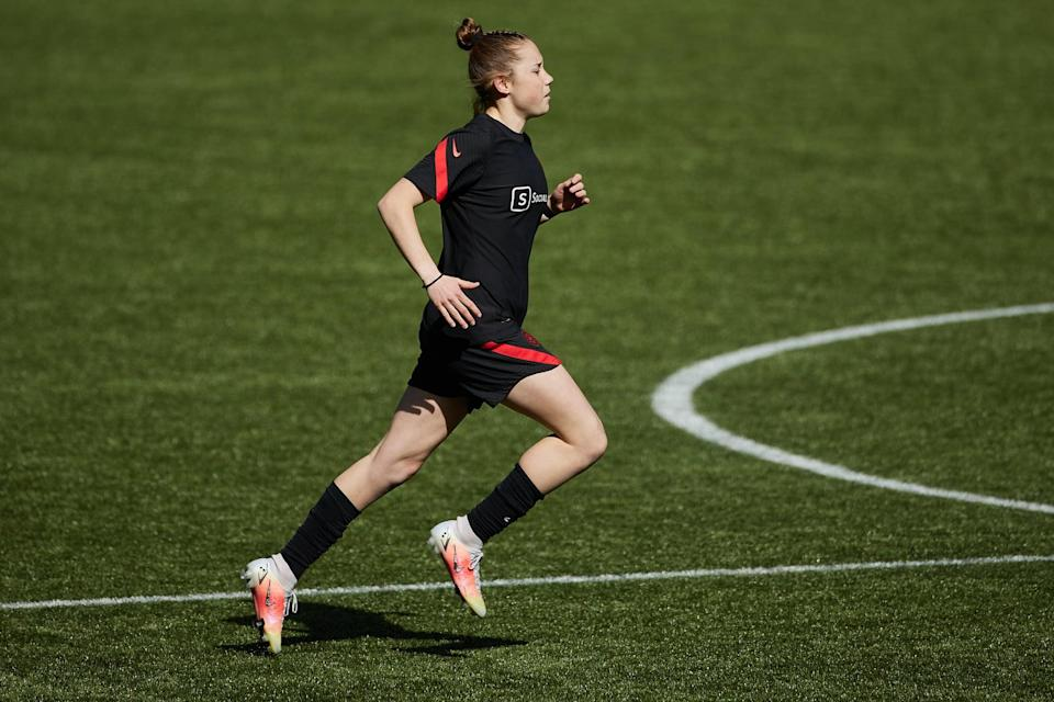 Olivia Moultrie Has Trained With the U-17 US Women's National Team