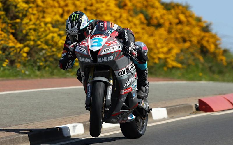 Road racing royalty: Michael Dunlop, seen here at the recent North West 200 races, must be a favourite for TT honours as many of his main rivals will be absent this year - (c) Impact Images Photography.