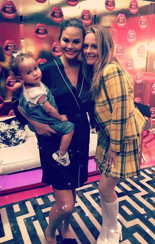 <p>If you were the real life Cher Horowitz, wouldn't you use every opportunity to go back to the <em>Clueless</em> days too? Clearly, Chrissy Teigen approves. The model posted a photo with Alicia Silverstone, who was rocking the memorable yellow plaid skirt and blazer combo from the film in real life. (Photo: Instagram/Chrissy Teigen) </p>
