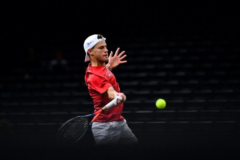 Schwartzman reached the Paris Masters quarter-finals for the first time