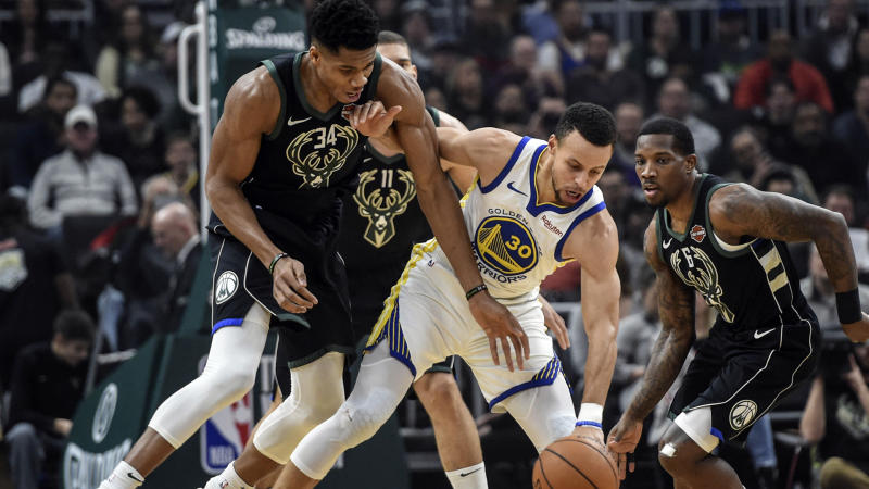 Bucks' Giannis wants Curry, Middleton in All-Star draft