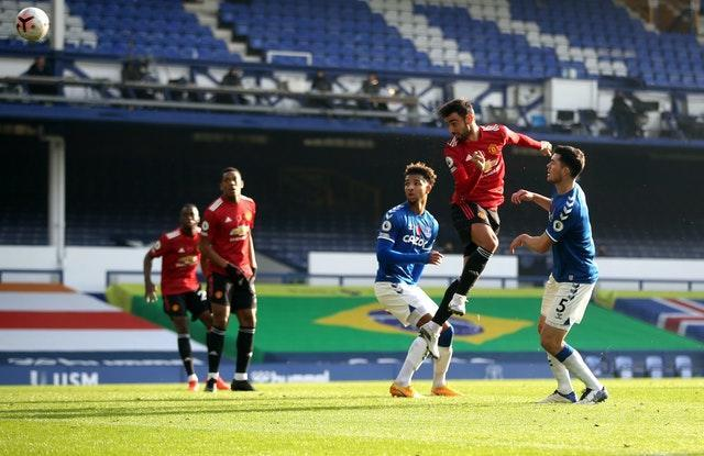 Bruno Fernandes lifted the mood around the United squad with a match-winning brace