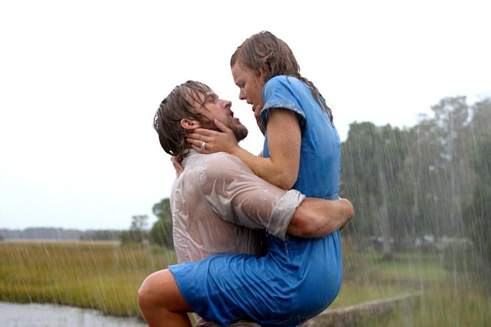 "<p>For intense, weepy, romantic drama, you really can't beat <strong>The Notebook</strong>. As teenagers, pristine Allie and bad boy Noah fall head over heels in love, but they're soon separated by Allie's wealthy, snobby family. When they cross paths again as adults, they've gone down very different roads in life, but the spark between them is as strong as ever.</p> <p><a href=""https://www.hbomax.com/feature/urn:hbo:feature:GX-nzMw1oyZHDwwEAAAN3"" class=""link rapid-noclick-resp"" rel=""nofollow noopener"" target=""_blank"" data-ylk=""slk:Watch The Notebook on HBO Max"">Watch <strong>The Notebook</strong> on HBO Max</a>.</p>"