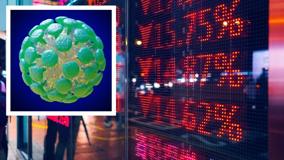 The ASX200 is having a rough start to the week. Images: Getty
