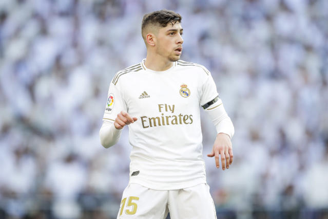 Fede Valverde has been a revelation for Real Madrid. (Photo by David S. Bustamante/Soccrates/Getty Images)
