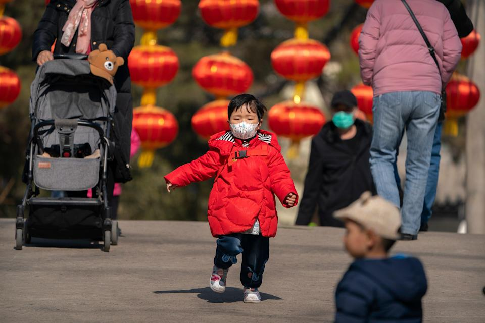 <p>There have been enforced limits on having children since the 1980s in China</p> (AP)