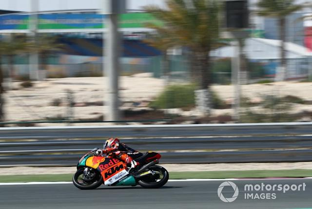 """Kaito Toba, Red Bull KTM Ajo <span class=""""copyright"""">Gold and Goose / Motorsport Images</span>"""