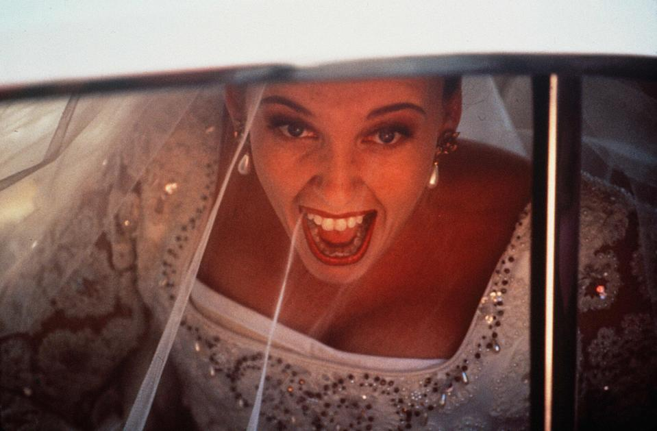 "<p><strong><em>Muriel's Wedding</em></strong>(1994)</p><p>Muriel (Toni Collette) has the misfortune of being born into a family of mean people in the dead-end town of Porpoise Spit, Australia. To give you an idea: Muriel's father likes to call her ""stupid, fat, and useless."" Muriel's life goal is to move to Sydney and have a glamorous wedding. Her new friend, Rhonda Epinstock (Rachel Griffiths), can help with the former – and maybe help Muriel reconsider the latter.</p><p><strong>Why You Should Watch It:</strong> <em>Muriel's Wedding</em> is about finding people who love and accept you wholly — something which Muriel's family certainly doesn't do. After spending the movie searching for romantic bliss, Muriel realises that her person has been by her side, all along.</p><span class=""copyright"">Ciby 2000/Kobal/REX/Shutterstock</span>"