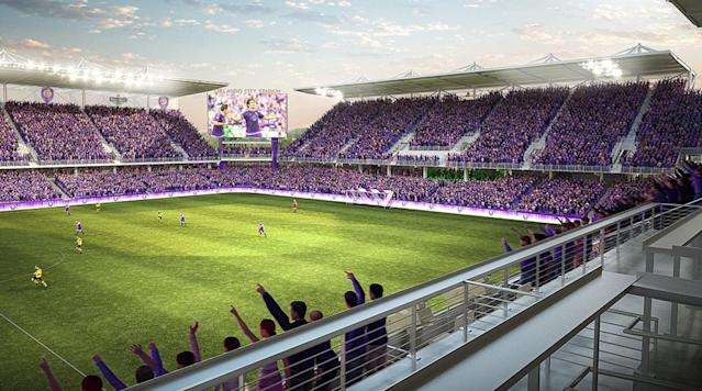 <p>Orlando City will be moving from Camping World Stadium to its new downtown stadium in 2017.</p>