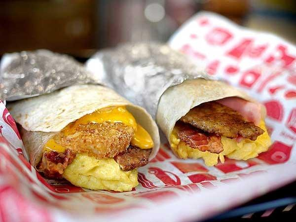 jack box breakfast burritos