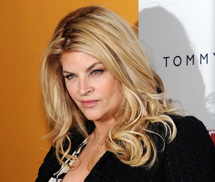 "FILE - This March 17, 2010 file photo shows actress Kirstie Alley at the premiere for the film ""The Runaways"" at the Landmark Sunshine Theater in New York. ABC says an ""All-Star"" edition of the competition show will bring back 12 former rivals including Pamela Anderson, Kristie Alley, and Bristol Palin. In a break from the past, viewers can vote online for the 13th contestant from three former contestants including actors Kyle Massey and Sabrina Bryan and celebrity stylist Carson Kressley. The celebrity dance competition series returns on ABC on Sept. 24. (AP Photo/Evan Agostini, file)"