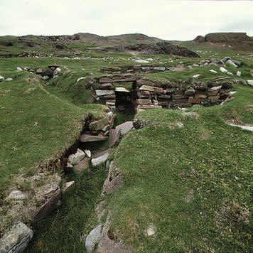 Brattahlid, a Viking colony.